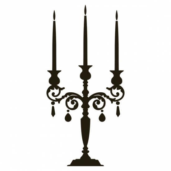 Фото - Наклейка на Стену Candlestick купить в киеве на подарок, цена, отзывы