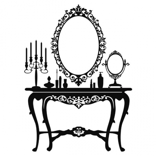 Фото - Наклейка на Стену Dressing Table купить в киеве на подарок, цена, отзывы