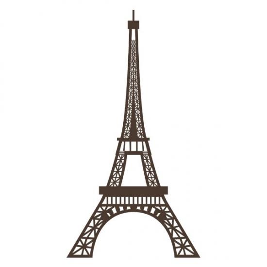Фото - Наклейка на Стену Eiffel Tower купить в киеве на подарок, цена, отзывы