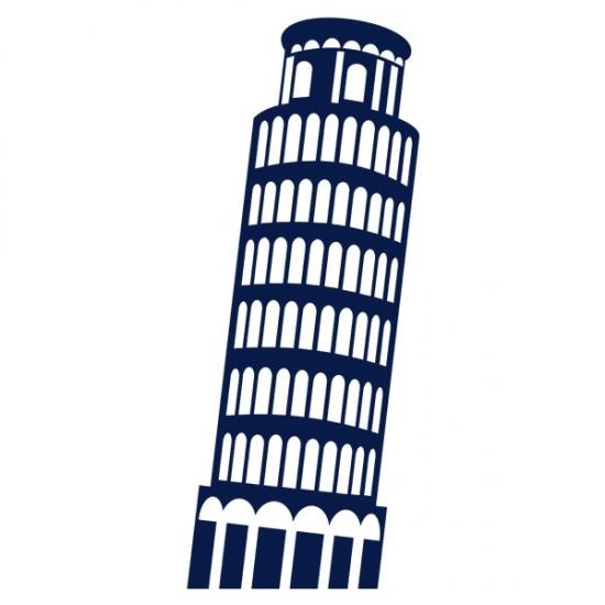 Фото - Наклейка на Стену Pisa купить в киеве на подарок, цена, отзывы