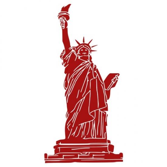 Фото - Наклейка на Стену Statue of Liberty купить в киеве на подарок, цена, отзывы