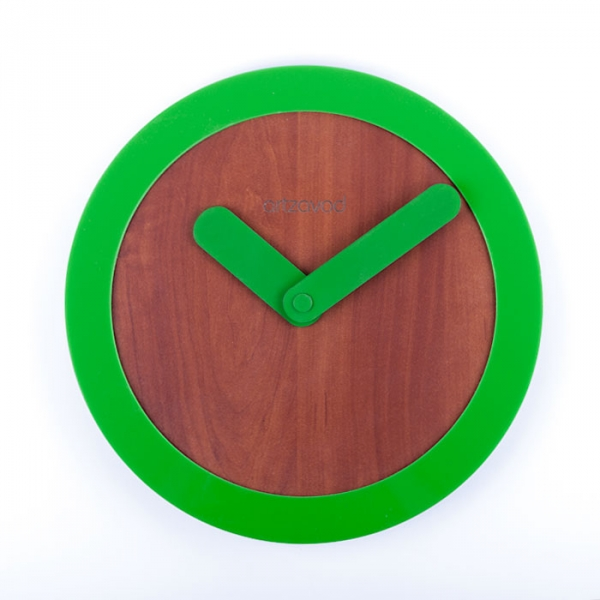 Фото - Настенные часы KoLo Green купить в киеве на подарок, цена, отзывы