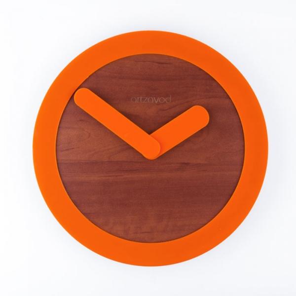 Фото - Настенные часы KoLo Orange купить в киеве на подарок, цена, отзывы