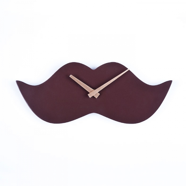 Фото - Настенные часы Mustache 30 см х 12 см х 25 см купить в киеве на подарок, цена, отзывы