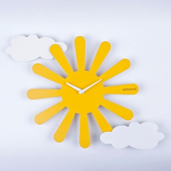 Фото - Настенные часы Солнышко купить в киеве на подарок, цена, отзывы