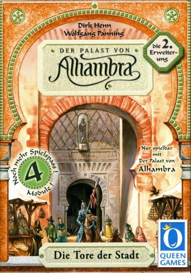 Фото - Настольная игра Alhambra 2 The City Gates купить в киеве на подарок, цена, отзывы