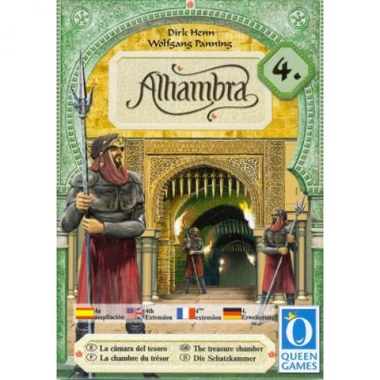Фото - Настольная игра Alhambra 4 The Treasure Chamber купить в киеве на подарок, цена, отзывы