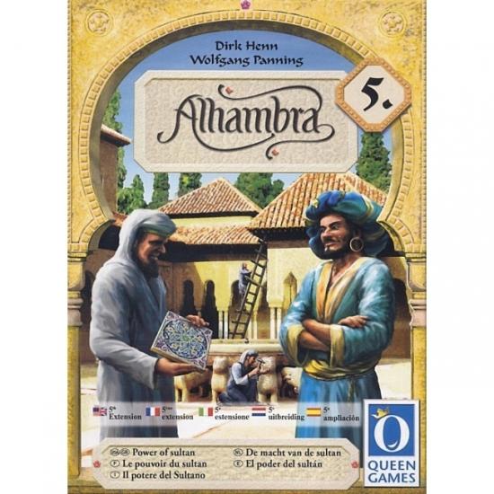 Фото - Настольная игра Alhambra 5 The Power of Sultan купить в киеве на подарок, цена, отзывы