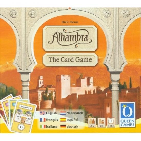 Фото - Настольная игра Alhambra The Card game купить в киеве на подарок, цена, отзывы