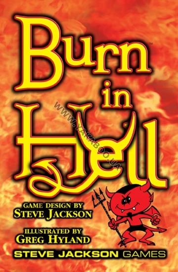 Фото - Настольная игра Burn in Hell купить в киеве на подарок, цена, отзывы