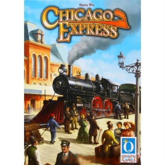 Фото - Настольная игра Chicago Express (Чикаго Экспресс) купить в киеве на подарок, цена, отзывы