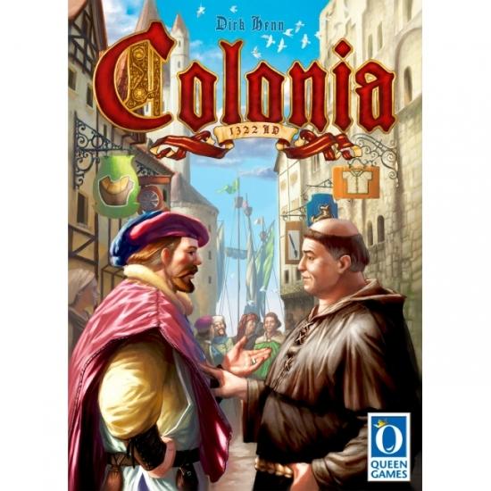 Фото - Настольная игра Colonia (Колония) купить в киеве на подарок, цена, отзывы