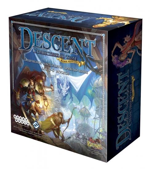 Фото - Настольная игра Descent. Странствия во Тьме купить в киеве на подарок, цена, отзывы