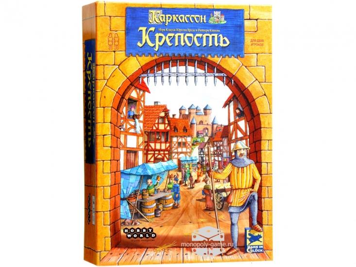 Фото - Настольная игра Каркассон Крепость купить в киеве на подарок, цена, отзывы