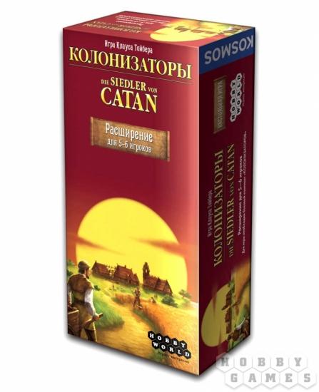 Фото - Настольная игра Колонизаторы Расширение для 5-6 игроков купить в киеве на подарок, цена, отзывы