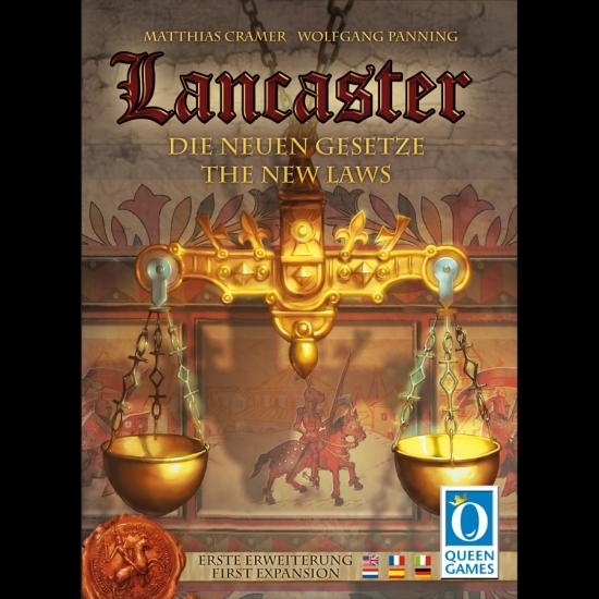 Фото - Настольная игра Lancaster The New Laws Expansion купить в киеве на подарок, цена, отзывы