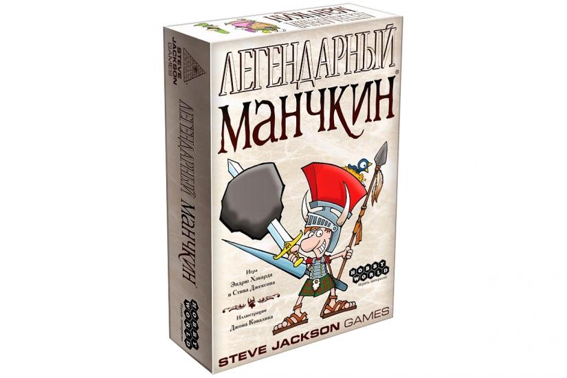 Фото - Настольная игра Легендарный Манчкин купить в киеве на подарок, цена, отзывы