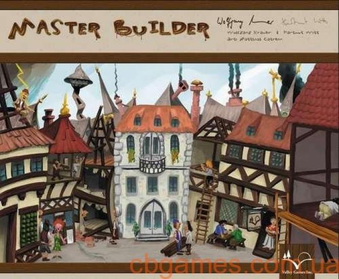 Фото - Настольная игра Master Builder купить в киеве на подарок, цена, отзывы