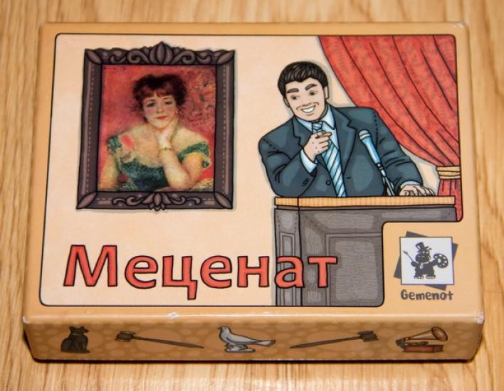 Фото - Настольная игра Меценат купить в киеве на подарок, цена, отзывы