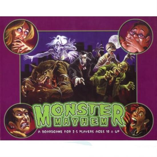 Фото - Настольная игра Monster Mayhem купить в киеве на подарок, цена, отзывы