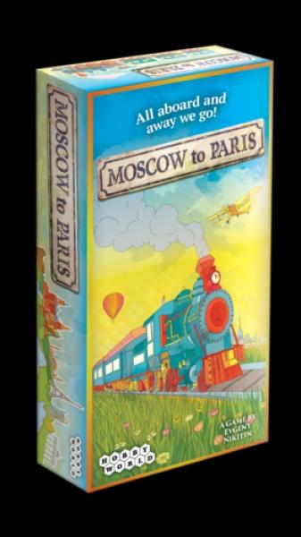 Фото - Настольная игра Москва-Париж купить в киеве на подарок, цена, отзывы