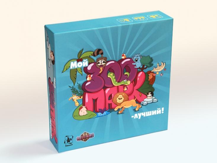 Фото - Настольная игра Мой зоопарк - лучший купить в киеве на подарок, цена, отзывы