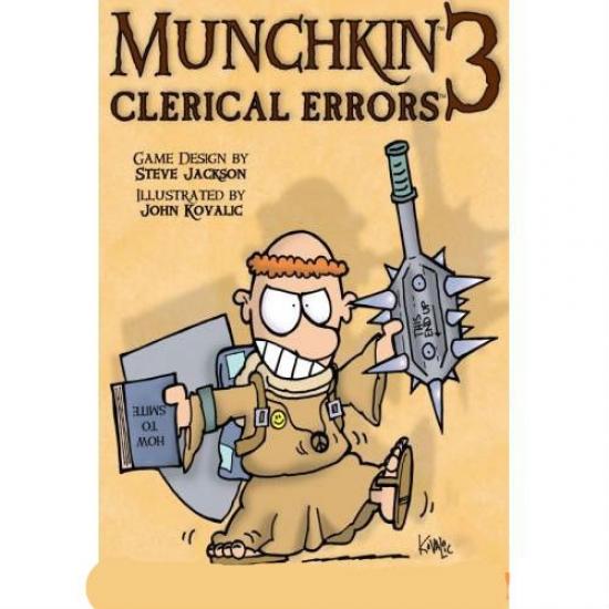 Фото - Настольная игра Munchkin 3 Clerical Errors Color купить в киеве на подарок, цена, отзывы