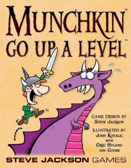 Фото - Настольная игра Munchkin Go Up a Level купить в киеве на подарок, цена, отзывы