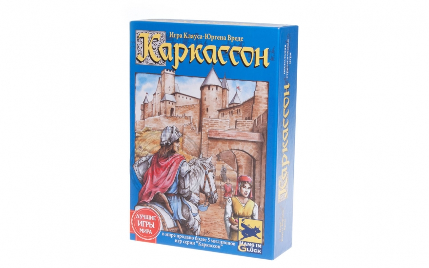 Фото -  Настольная игра Каркассон Средневековье купить в киеве на подарок, цена, отзывы