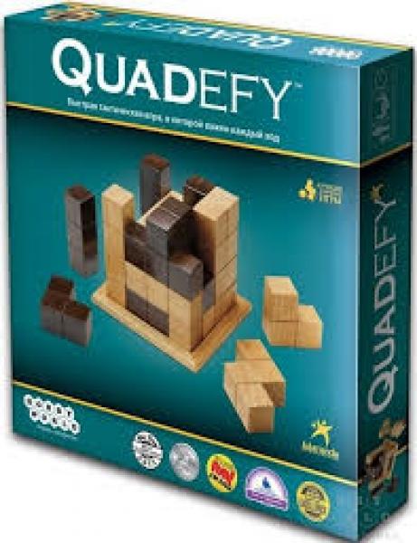 Фото - Настольная игра Quadefy купить в киеве на подарок, цена, отзывы