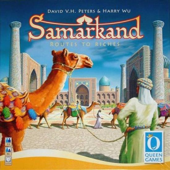 Фото - Настольная игра Samarkand купить в киеве на подарок, цена, отзывы
