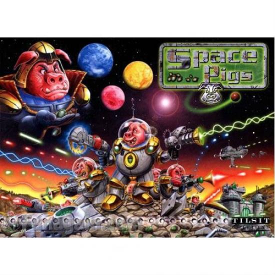 Фото - Настольная игра Space Pigs купить в киеве на подарок, цена, отзывы