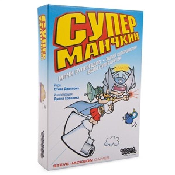 Фото - Настольная игра Супер Манчкин новая версия купить в киеве на подарок, цена, отзывы