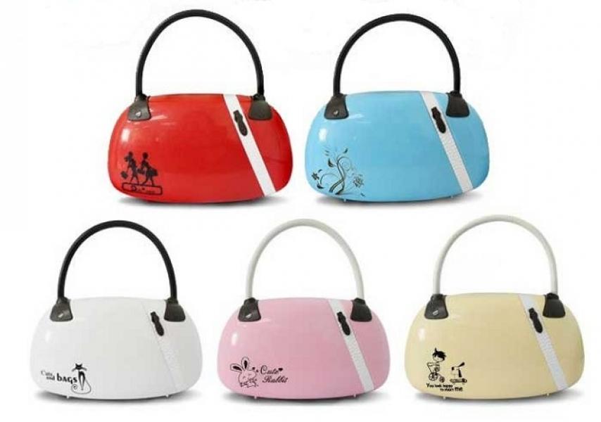 Фото - Настольная светодиодная лампа дамская сумка купить в киеве на подарок, цена, отзывы