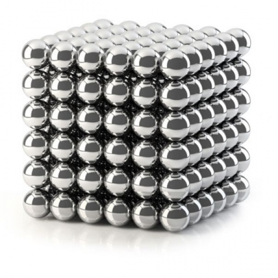 Фото - Неокуб - Серебристый 5мм купить в киеве на подарок, цена, отзывы