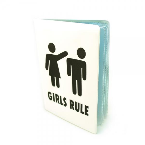Фото - Обложка для автодокументов Girls rule купить в киеве на подарок, цена, отзывы