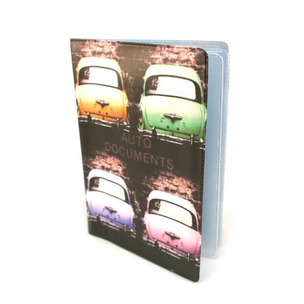 Фото - Обложка для автодокументов Машинки купить в киеве на подарок, цена, отзывы
