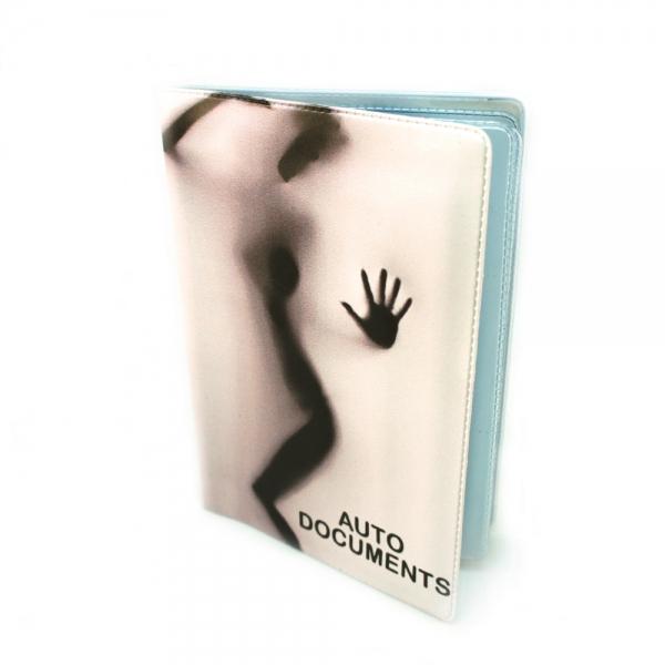 Фото - Обложка для автодокументов Силуэт купить в киеве на подарок, цена, отзывы
