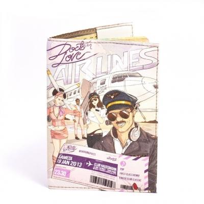 Фото - Обложка на паспорт Airlines  купить в киеве на подарок, цена, отзывы