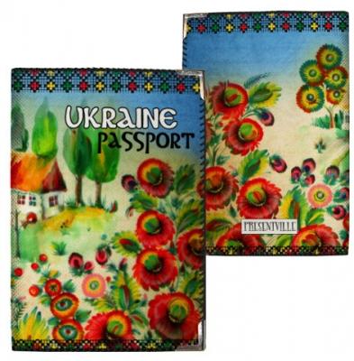 Фото - Обложка на паспорт Батькова хатина купить в киеве на подарок, цена, отзывы