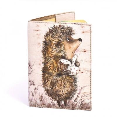 Фото - Обложка на паспорт Ежик в тумане купить в киеве на подарок, цена, отзывы