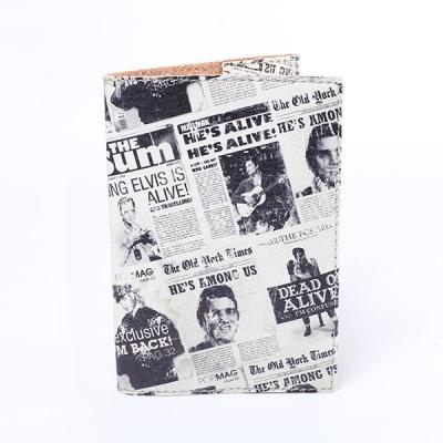 Фото - Обложка на паспорт Газета  купить в киеве на подарок, цена, отзывы