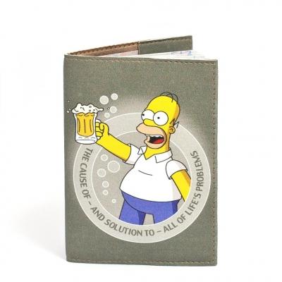 Фото - Обложка на паспорт Гомер Симпсон купить в киеве на подарок, цена, отзывы