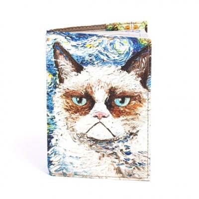Фото - Обложка на паспорт Кот купить в киеве на подарок, цена, отзывы