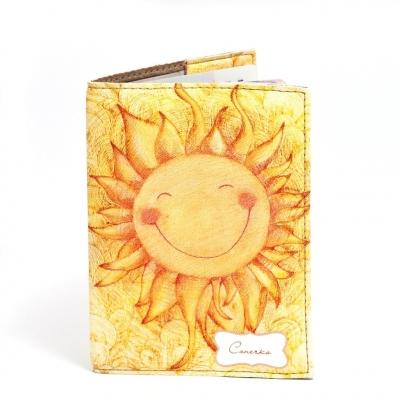 Фото - Обложка на паспорт Солнышко купить в киеве на подарок, цена, отзывы