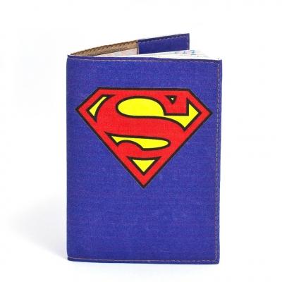 Фото - Обложка на паспорт Супермен купить в киеве на подарок, цена, отзывы