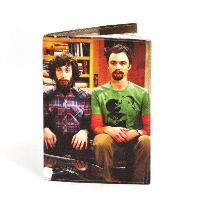 Фото - Обложка на паспорт Теория большого взрыва купить в киеве на подарок, цена, отзывы