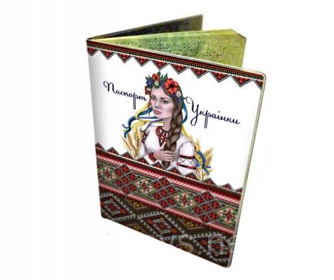 Фото - Обложка на паспорт Украинки купить в киеве на подарок, цена, отзывы