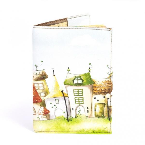 Фото - Обложка на паспорт домики купить в киеве на подарок, цена, отзывы