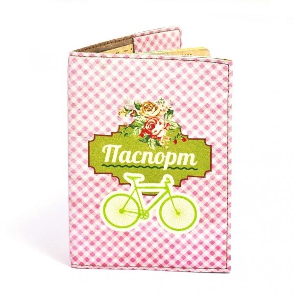 Фото - Обложка на паспорт велосипед купить в киеве на подарок, цена, отзывы